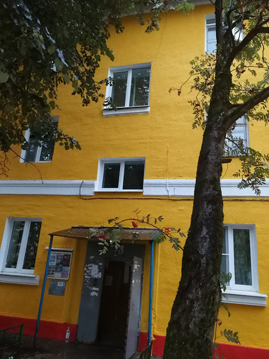 Двустворчатые окна Рехау в Щёлково