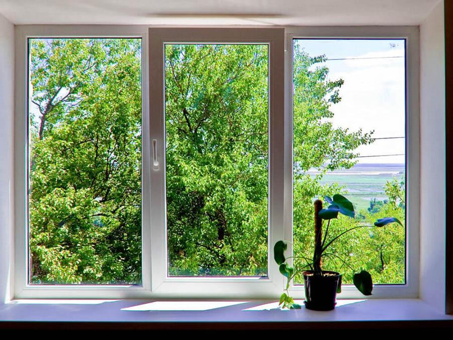 Окно пвх с проветриванием