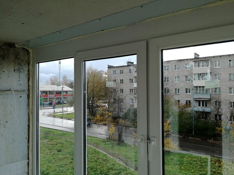 Утепление балконной рамы